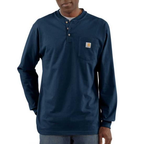 Carhartt Workwear Henley Pocket L/S Shirt