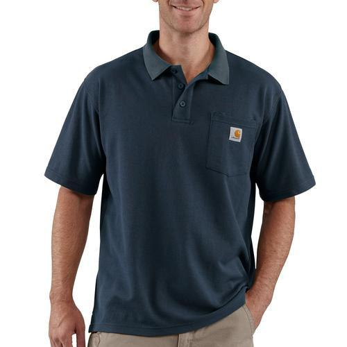 Carhartt Contractor's Work Polo Pocket S/S Shirt
