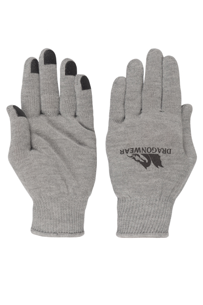 Dragon Wear Squall II Glove Liner - Gray