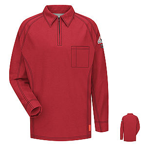 Bulwark FR iQ Series® Comfort Knit Long Sleeve Polo